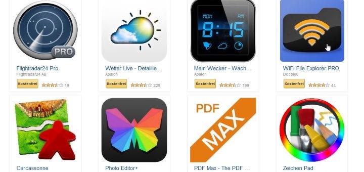 Bild von Schnell sein: Amazon verschenkt Apps im Wert von über 100 Euro