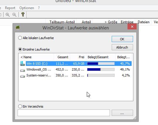 Anleitung WinDirStat - 2