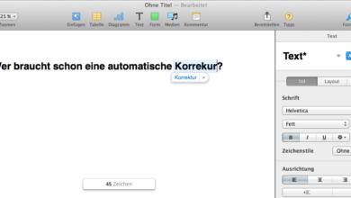 Bild von Anleitung: Autokorrektur unter MacOS und iOS abschalten
