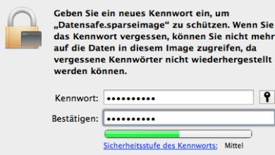 Bild von Anleitung: Verschlüsseltes Diskimage unter Mac OS X erstellen