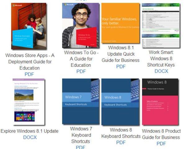 Microsofts kostenlose eBooks decken viele Themenbereiche ab und stehen in verschiedenen Formaten zum Download bereit