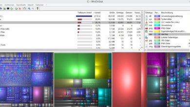 Bild von Anleitung: Festplattenbelegung mit WinDirStat analysieren und Platzfresser finden