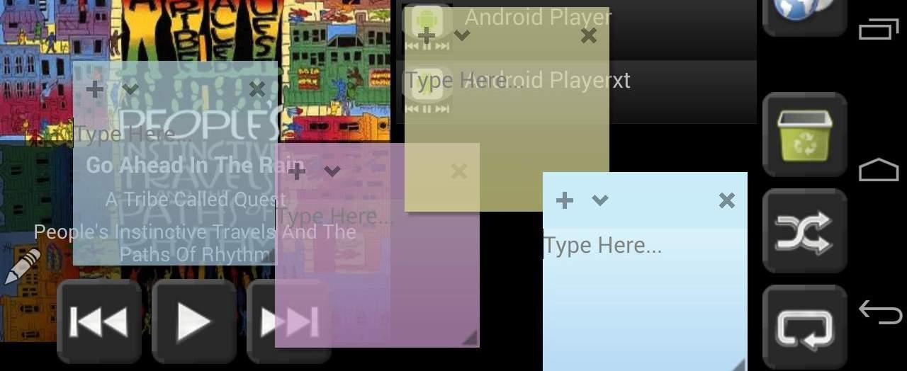 Kleine Fenster Android