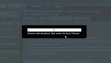 Bild von Anleitung: Firmware-Updates auf ASUS-Routern installieren