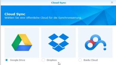 Bild von Anleitung: Dropbox und Google Drive mit Synology-NAS synchronisieren
