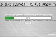 Bild von Anleitung: Videos ohne zusätzliche Software online konvertieren