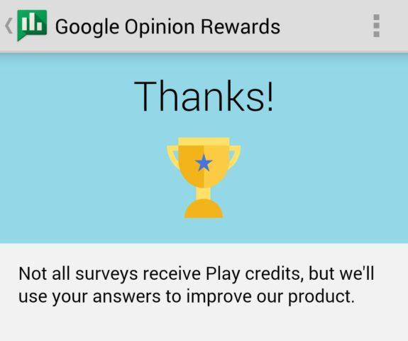 Optional könnt Ihr auch Umfragen durchführen, die nicht belohnt werden - wir wissen allerdings nicht, ob dies die Chance auf Bezahl-Umfragen steigert ;)