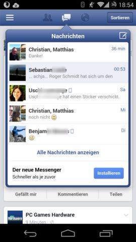 Tinfoil for Facebook ersetzt die Facebook-App unter Android komplett. Mit dabei ist auch die Möglichkeit, mit Euren Freunden Nachrichten zu schreiben