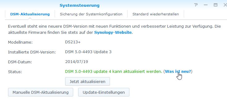 WS Synology-Updates 3