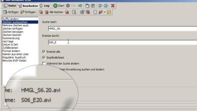 Bild von Tipp: Dateien massenweise umbenennen 1/2: Einfach