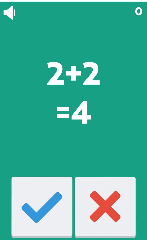 Wir präsentieren: Das Spielprinzip von Freaking Math. Ehrlich, mehr kommt da nicht ;)