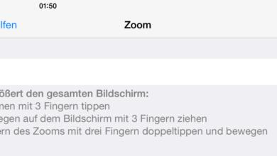 Photo of iPad-Bildschirm in jeder App mit Bildschirmlupe zoomen