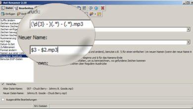 Bild von Tipp: Dateien massenweise umbenennen 2/2: Komplex