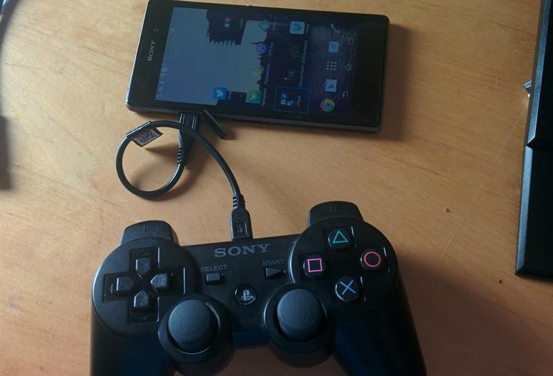 PS4-Controller mit Android-Gerät verbinden