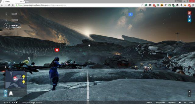 Destiny Planet View lässt Euch die Planeten von Destiny direkt im Browser erforschen