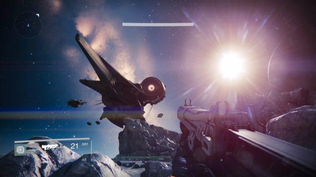Was auch immer über Destiny gesagt werden kann, eines ist sicher: Es sieht grandios aus ;)