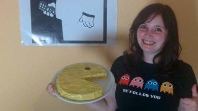 Bild von Der Tutonaut backt: Pac-Man Gamecake [Video]