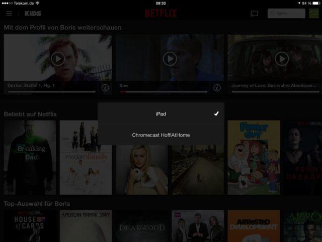 Die Mobil-Apps von Netflix hinterlassen einen guten Eindruck, wenn auch ein Offline-Modus leider fehlt