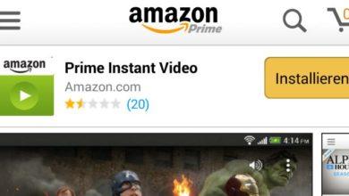 Bild von Tipp: Amazon Prime Instant Video über Android-App nutzen