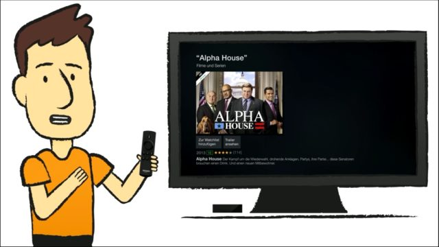 Auch Einsteiger finden sich schnell beim Fire TV zurecht. Mit einem Video erklärt Amazon die wichtigsten Features.