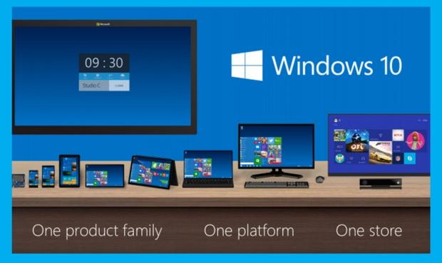 Windows 10 soll vom Mini-Rechner bis hin zur Xbox eine einheitliche Benutzererfahrung bieten [Bild: Microsoft]