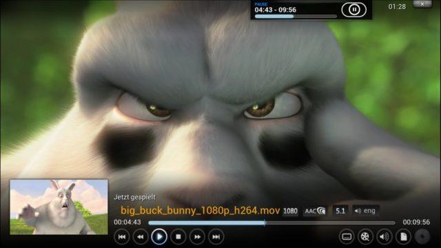 Mit XBMC, ähm, Kodi wird das Amazon Fire TV zum Universalplayer