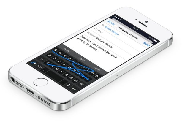 Apple bewirbt die Möglichkeit, alternative Tastaturen auf iPhone und Co. zu nutzen, aktiv auf der eigenen Homepag - zurecht, wie wir finden ;) (Bild: Apple)