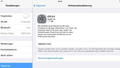 Bild von iOS 8: Wer das Update einspielen sollte – und wer es sich besser spart
