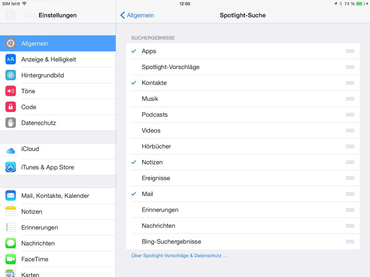 iOS8schneller3