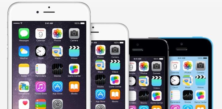 iPhone-Größen