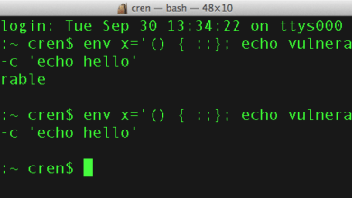 Bild von Tipp: Shellshock-Lücke unter Mac OS X erkennen und beheben