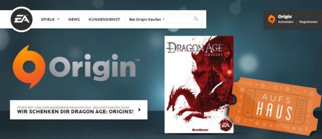 Wir wissen ja, dass niemand EAs Origin mag - aber hey, für so ein Meisterwerk darf man auch mal über seinen Schatten springen ;)