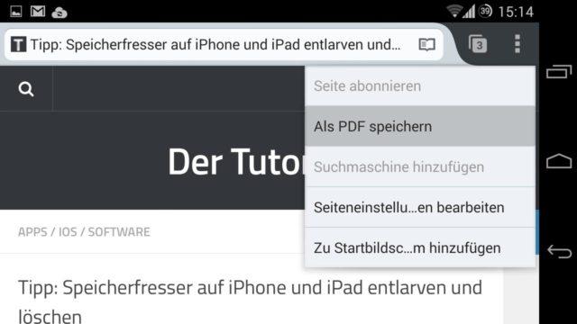 Android PDF erstellen