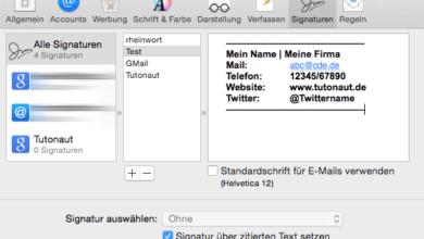 Photo of Anleitung: Ansprechende Signaturen in Apple Mail erstellen und automatisch einfügen