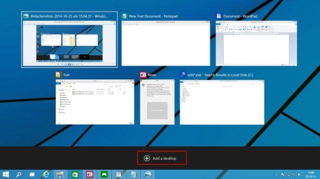 virtuelle desktops windows 10