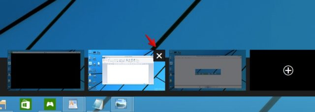 virtuelle desktops entfernen windows
