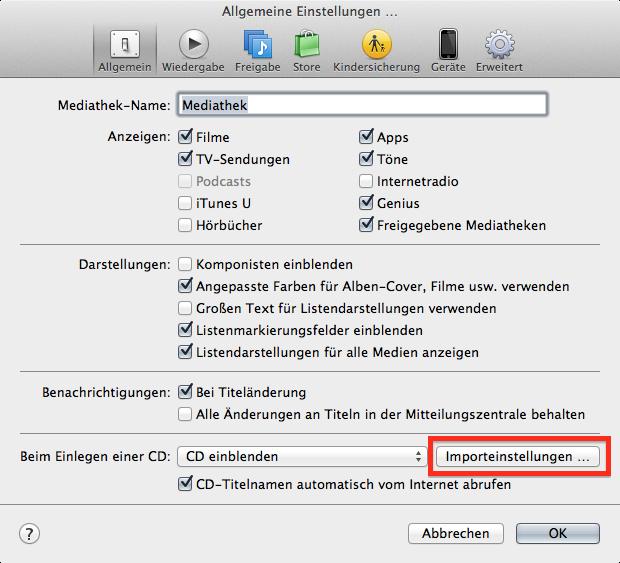 Anleitung: iTunes-Audiodateien mit Bordmitteln nach MP3