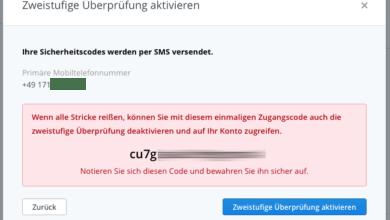 Bild von Anleitung: Zwei-Faktor-Authentifizierung in Dropbox aktivieren