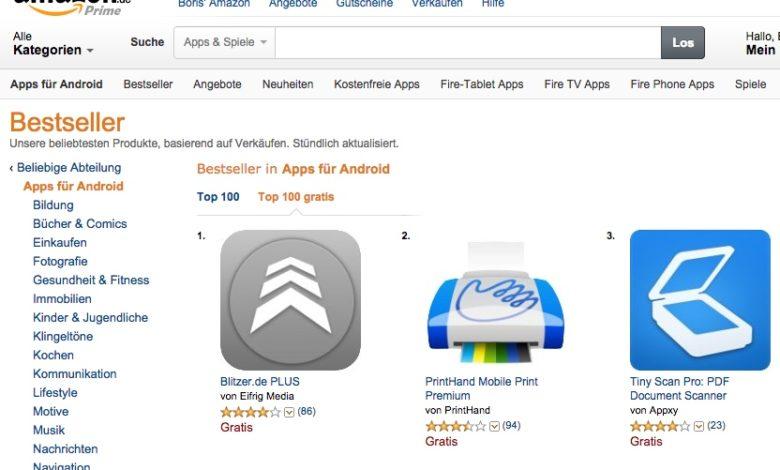 Amazon Gratis-Apps