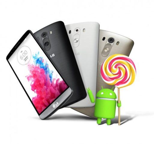 LG liefert Android 5.0 als einer der ersten Hersteller per OTA-Update aus (Bild: LG)