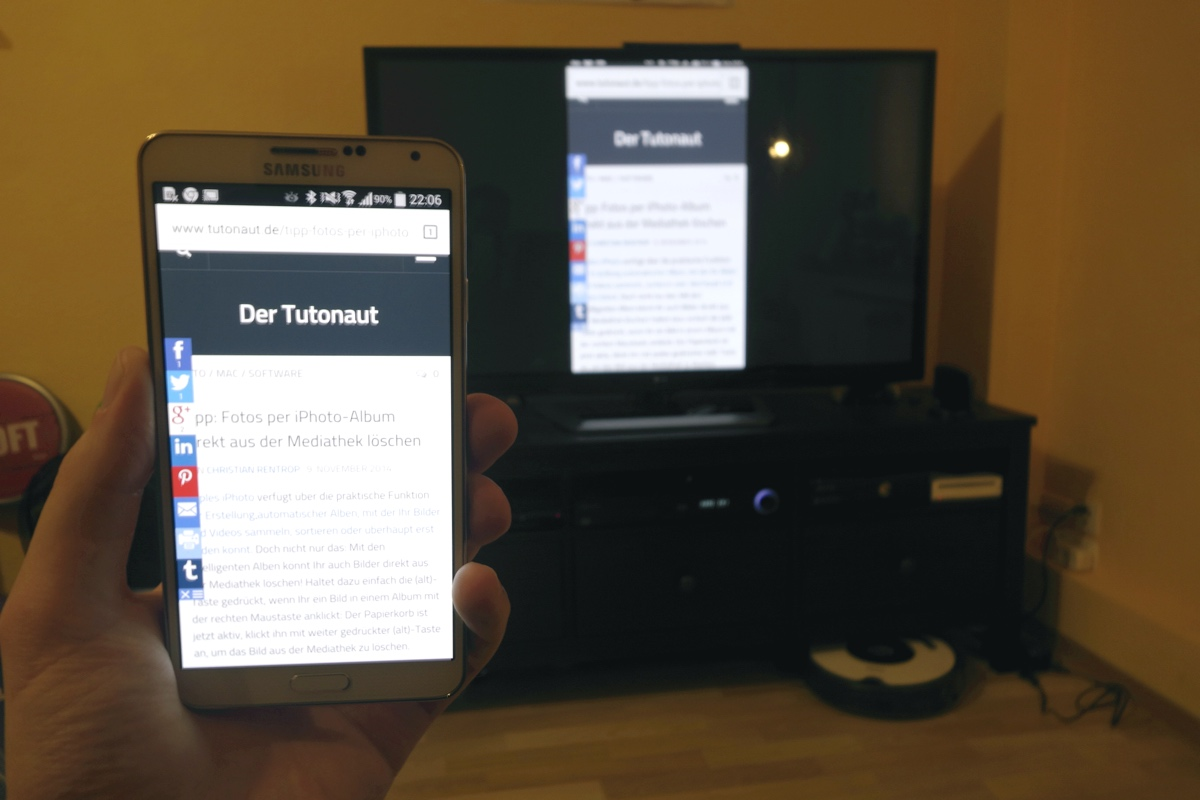 Android Mirror Chromecast