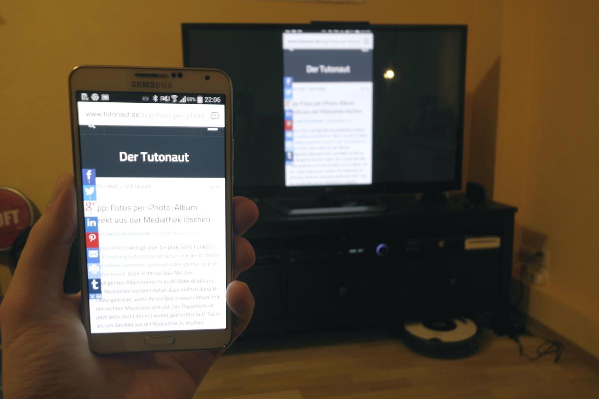 Android Mirror Chromecast