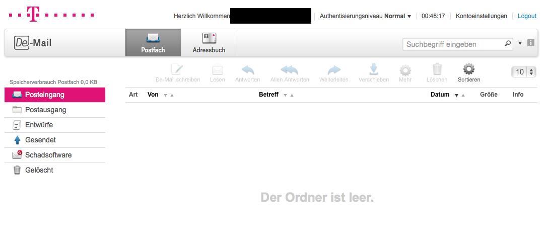 DE-Mailkonto