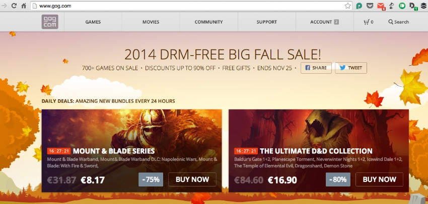 GOG Winter Sale