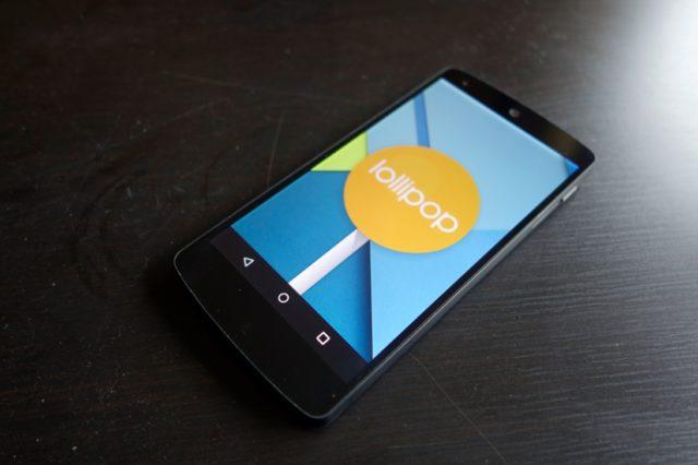 Nexus 5 Lollipop Update