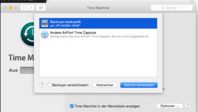 Bild von Anleitung: Time Machine-Backups auf Netzwerk-Festplatte am Router durchführen