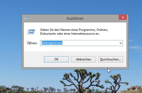 WS Formatieren 2 Datenträgerverwaltung