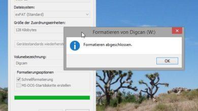 Bild von Anleitung: USB-Sticks, SD-Karten und externe Festplatten unter Windows formatieren
