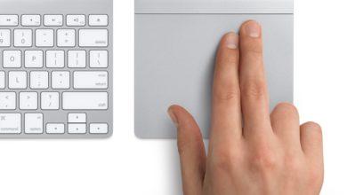 Bild von Doppeltippen und Ziehen auf dem MacBook-Trackpad aktivieren