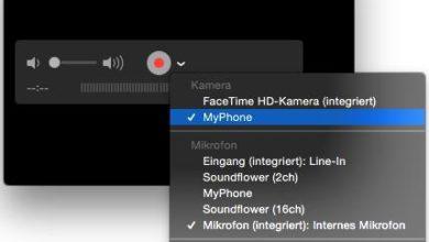 Bild von Anleitung: Bildschirm-Video von iPhone und iPad mit dem Mac erstellen